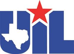Traditional UIL logo with red star and state emblem