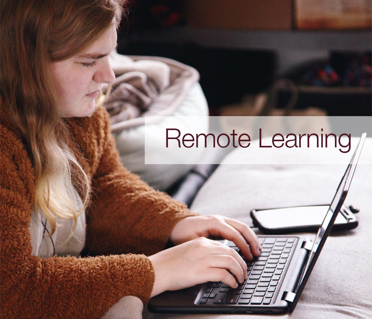 Remote Learning student